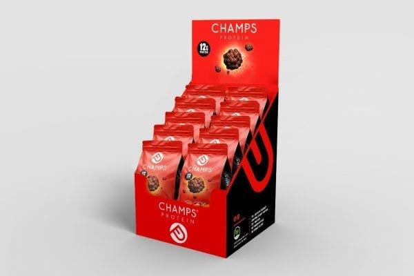 מארז צ'אמפס 12 גרם חלבון אדום