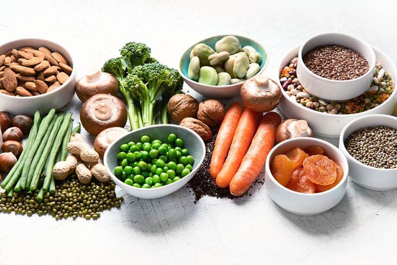 מקורות חלבון לצמחונים